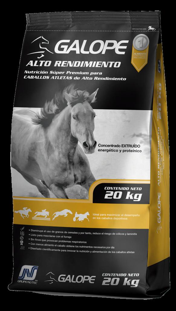 Alimento para caballos Galope