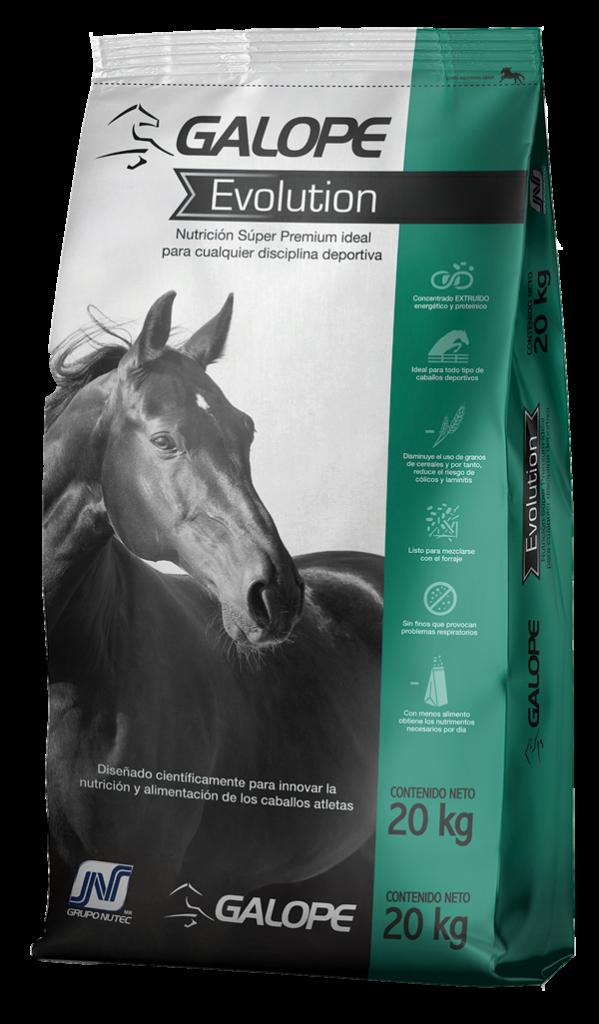 Alimento para caballos Galope Evolution